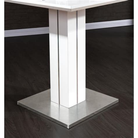 Meuble Bar Laqué Blanc by Table Bar Blanc Laqu 233 Table De Bar Design Blanc Laque