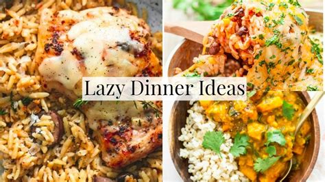 dinner recipes for 6 easy family dinner ideas for lazy days