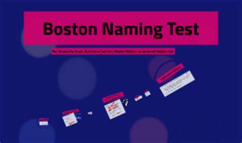 boston naming test italiano boston naming test by andr 233 ane cormier on prezi