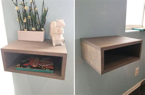 Floating Drawers Set Of Two by Groopdealz Floating Nightstand Shelves Set Of 2