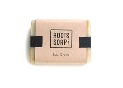 Handmade Soap Company Names - roots soap co on behance
