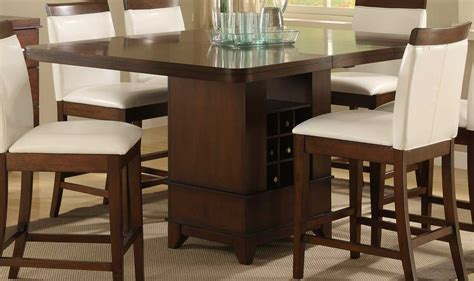 539 Homelegance 1410 800 996 8221 Dining Table With Wine Storage