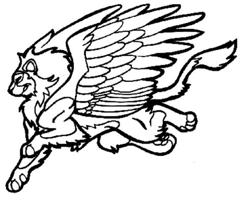 winged cat coloring page winged cat coloring pages coloring pages
