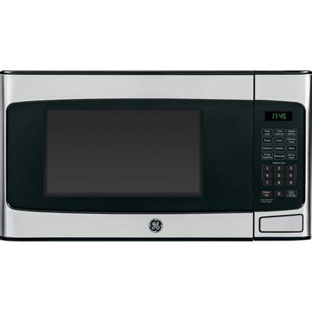 Walmart Countertop Microwave Ovens by Ge 1 1 Cu Ft Countertop Microwave Oven Stainless