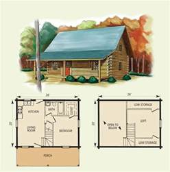 Small Log Cabin Blueprints by Cabin Floor Plans With Loft Hideaway Log Home And Log