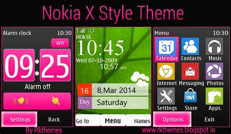themes for nokia c2 06 touch and type nokia x style theme for nokia 202 300 303 x3 02 c2 02 c2