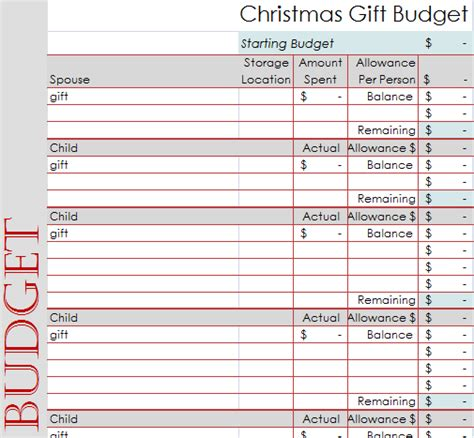 3 days to an organized christmas beautiful budgets day 2