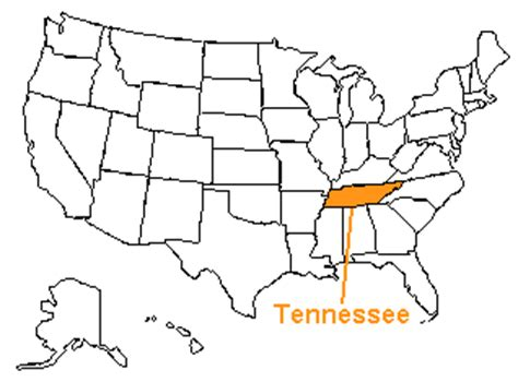 us map states tennessee the us50 a guide to the state of tennessee geography