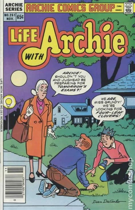 biography comic book life with archie 1958 comic books
