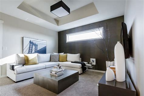 modern family living room mh small detailed modern family room calgary by