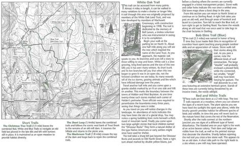 trout brook reservation holden ma properties white oak land conservation society