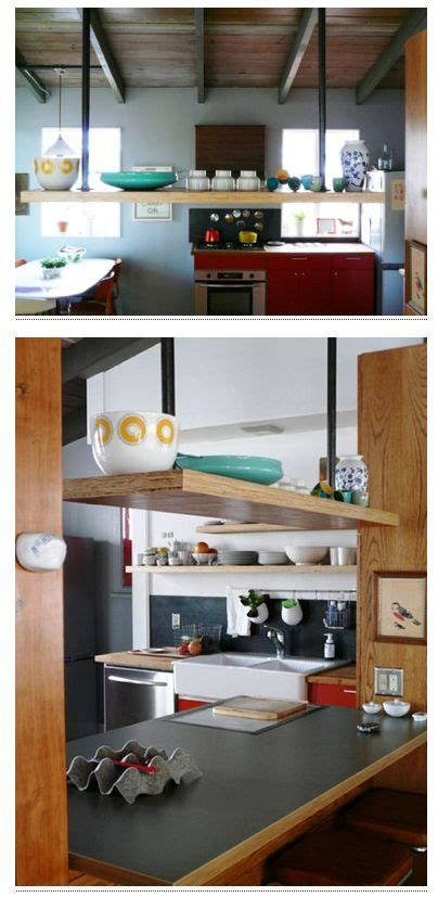 kitchen island with shelves hanging shelf above kitchen island hanging shelf