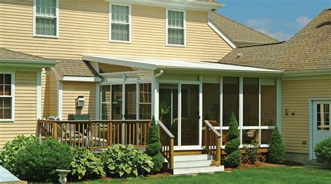 single pitch roof screened deck enclosures great home design