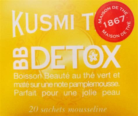 Bb Detox Kusmi Tea Review by Kusmi Tea I Wanna Be That By