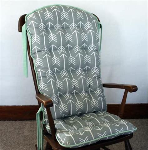 premier prints arrow cool grey rocking chair pads