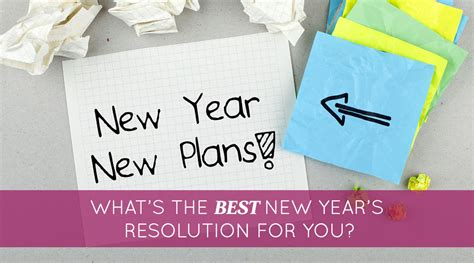 what s the best new year s resolution for you proctor