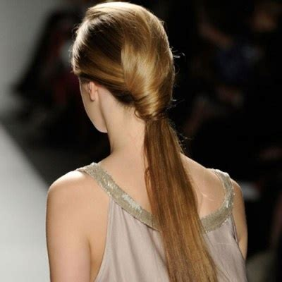 hair long enough for a ponytail low ponytail long hair don t care pinterest