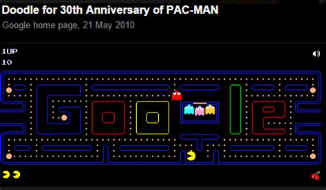 pac doodle play now you can play pacman on maps the wee marketing