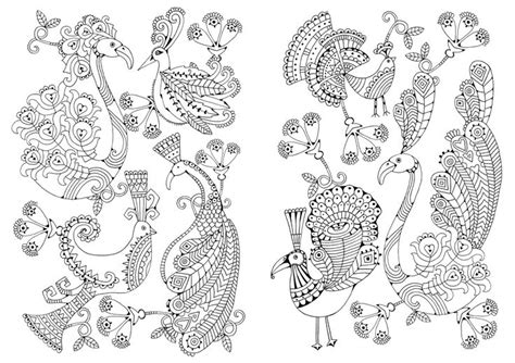 doodlebug lloydminster proud peacocks in the glorious colouring book