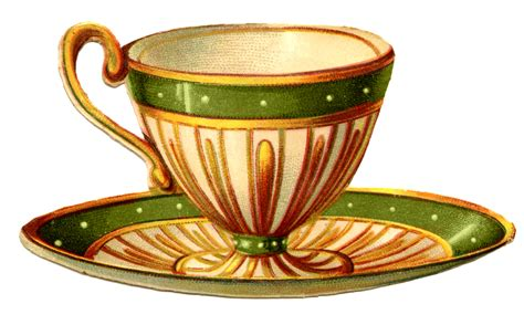 tea cup clip vintage graphics pretty teacups the graphics