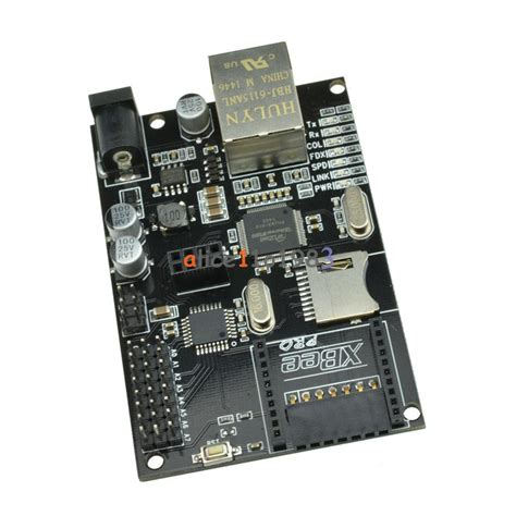 Iboard W5100 w5100 ethernet module with poe xbee sd slot iboard for arduino