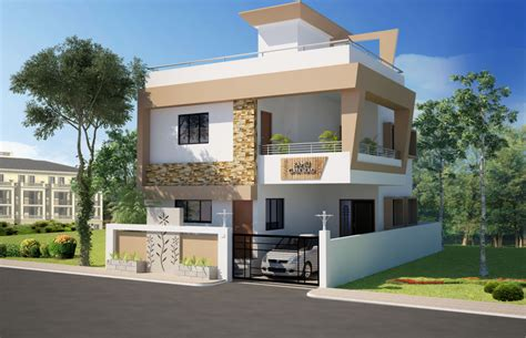 indian home front design images modern house
