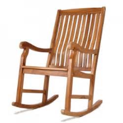 Simple Wood Rocking Chair » Ideas Home Design