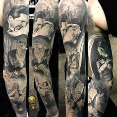 tattoo parlour universal studios posts haunted houses and sleeve on pinterest