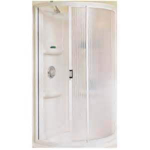 American Bath And Shower Company Delta 455000 34 Quot Rnd Shwr Kit