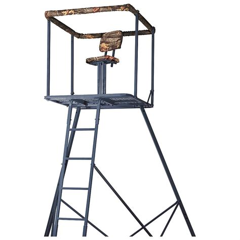 Tripod Holder ameristep 174 deluxe 14 tripod stand 162738 tower tripod stands at sportsman s guide