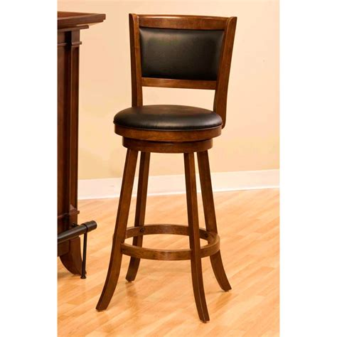 Cherry Swivel Counter Stools by Dennery Swivel Counter Stool With Cherry Wood Frame Dcg