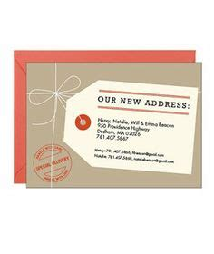 moving home cards template 1000 ideas about moving announcements on new