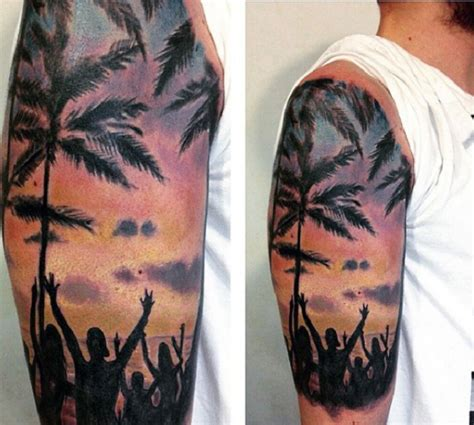 beach tattoo sleeve 60 awesome tattoos nenuno creative