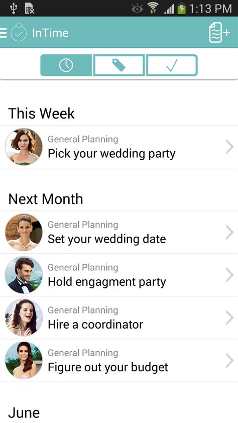 Wedding Box App by Intime The Ultimate Social Wedding Planning App