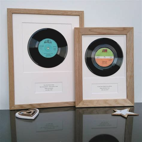 best records on vinyl personalised framed vinyl record by vinyl