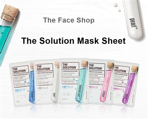 The Shop Sheet Mask the shop the solution mask sheet