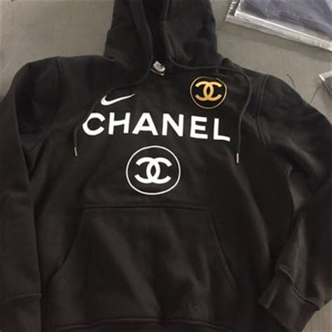 Channel Hoodie shop chanel sweatshirt on wanelo