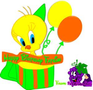 tweety bird birthday clip art newhairstylesformen2014