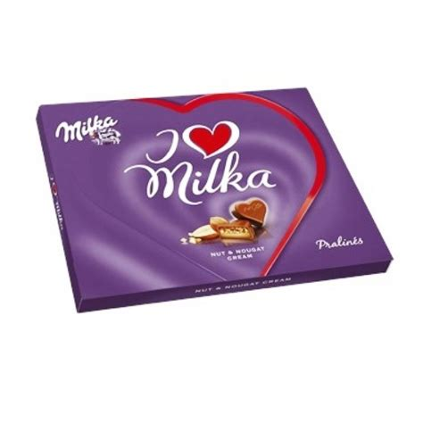 milka i love milka nut nougat cream 110g
