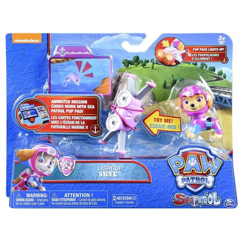 paw patrol light up scooter spin master 20088686 paw patrol sea patrol light up skye
