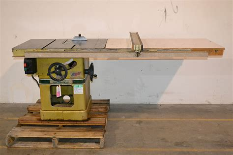 Biesemeyer Table Saw Fence by Powermatic 66 10 Quot 5hp Table Saw W 50 Quot Biesemeyer Fence