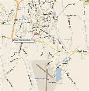 Keene State College Map by Maps To Keen State College In Keene Nh