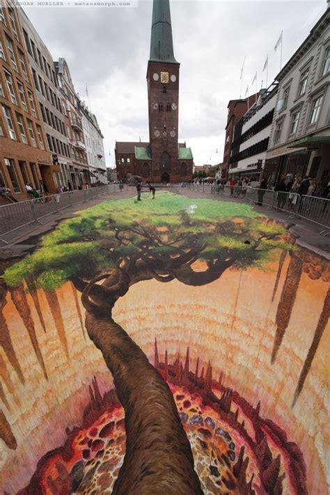 artes de rua  ilusoes de otica de impressionar