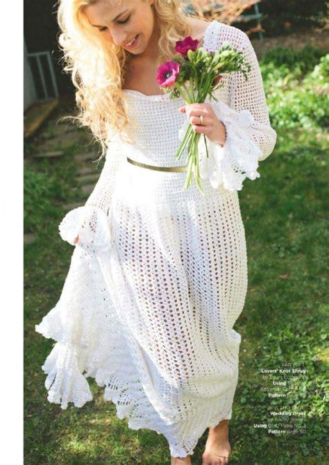 pattern crochet wedding dress free crochet wedding dress pattern archives crochet