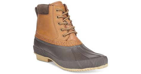 macy s duck boots hilfiger s casey waterproof duck boots only at