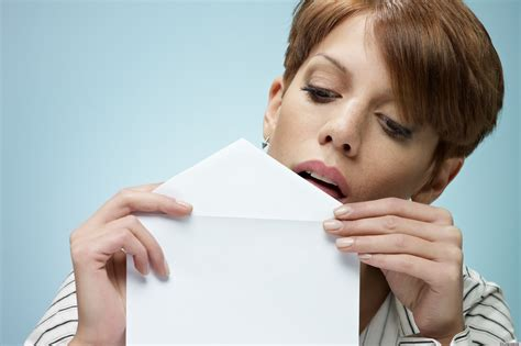 seal an envelope with clear nail so you never a bad taste in your huffpost