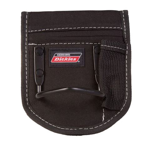 Back Pocket Tool Pouch Leather Belt Loop Organizer Holster Scissor Poc toughbuilt 4 75 in 1 compartment large pliers pouch black tb ct 35 l the home depot
