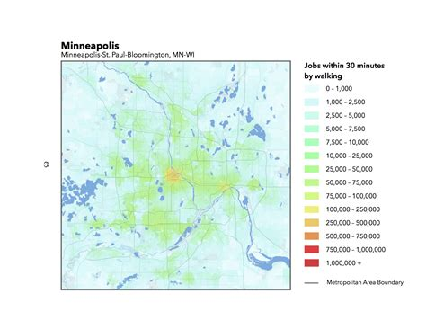 walking minneapolis map of the day walk access to 2014 streets mn