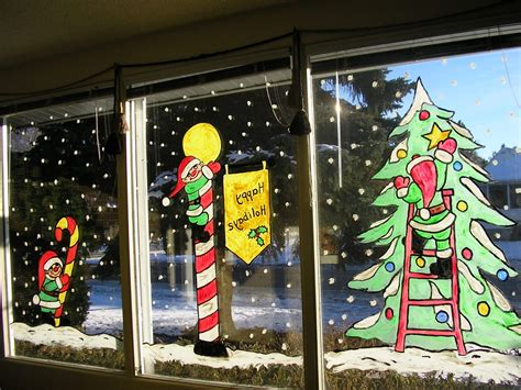 window painting for christmas inspireworks