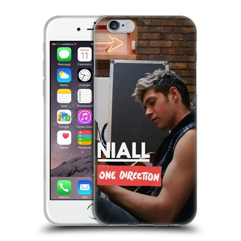 Cool 1d One Directionhard Iphone Casesm official one direction 1d niall horan photo soft gel for apple iphone 6 4 7